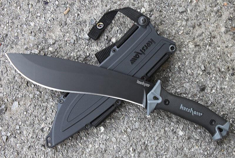 סכין להב קבוע קרשאו קמפ 10 Kershaw Camp 10