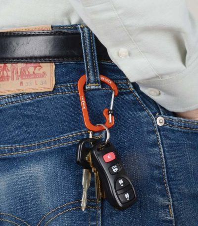 Slidelock Carabiner Aluminum Belt loop