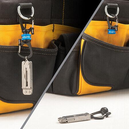 NIte Ize SlideLock 360 Magnetic Locking Dual Carabiner Bag