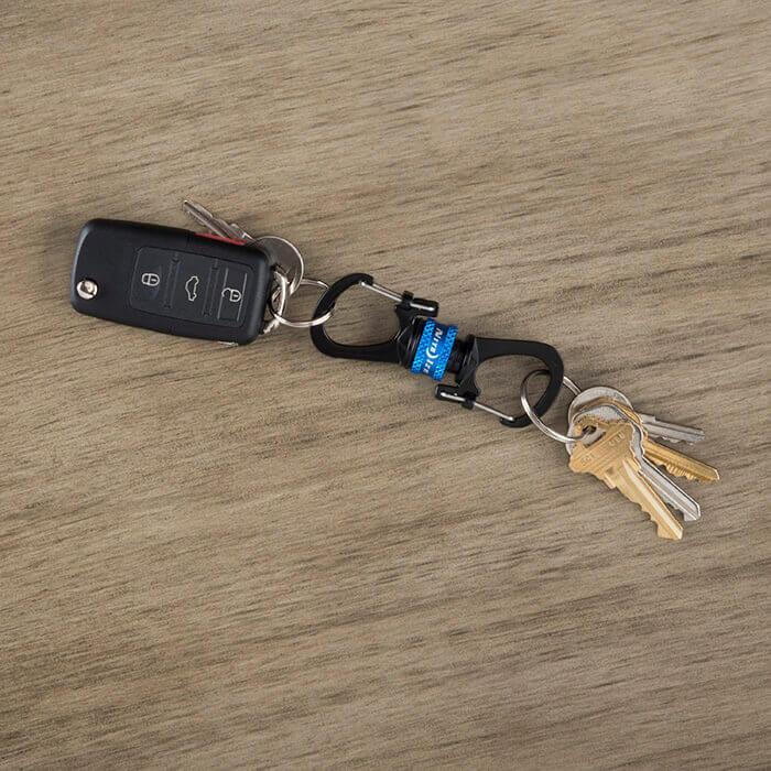 NIte Ize SlideLock 360 Magnetic Locking Dual Carabiner