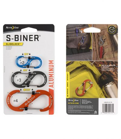 NiteIze S biner SlideLock 3 Pack