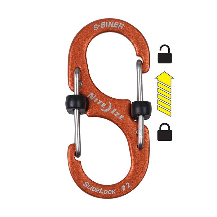 NiteIze S biner SlideLock Lock