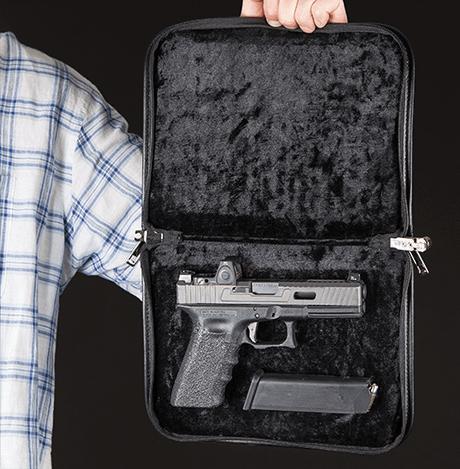 תיק ננעל לאקדח